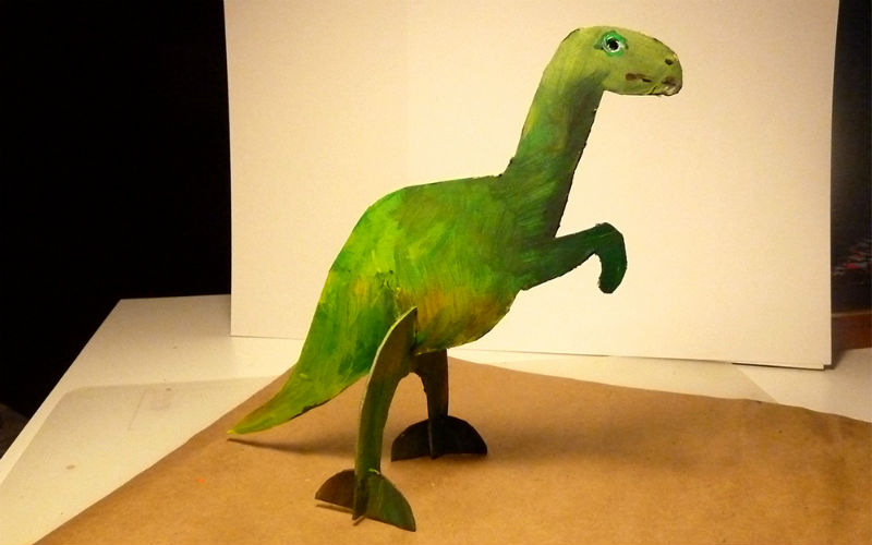 Сделать своими руками динозавров