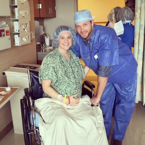 родители пятерняшек Даниэль и Адам перед родами, Фото: социальные сети