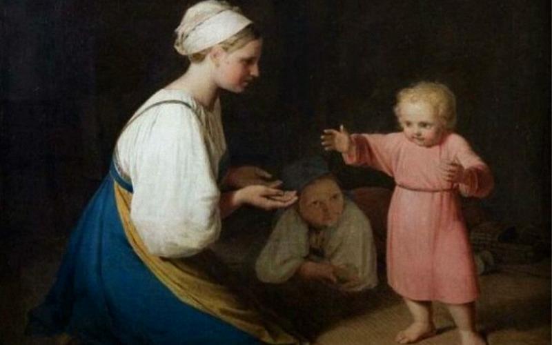 Как крестьяне на Руси детей воспитывали